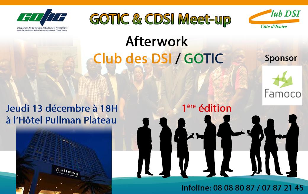 Inscription GOTIC & CDSI Meet-up   ClubDSI